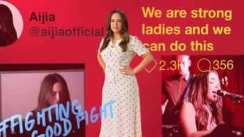 TOMS TV Spot, 'Stand for Tomorrow: Women's Rights' Featuring Aijia Lise Grammer - Thumbnail 3
