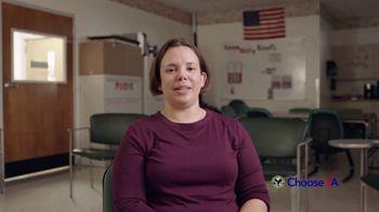 U.S. Department of Veteran Affairs TV Spot, 'I Choose'