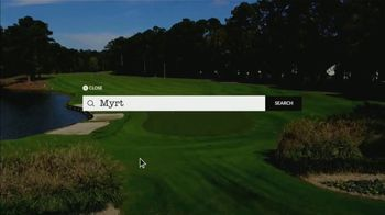 Myrtle Beach Golf Trips TV Spot, 'At Your Fingertips' - Thumbnail 2