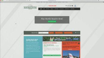 Myrtle Beach Golf Trips TV Spot, 'At Your Fingertips' - Thumbnail 3
