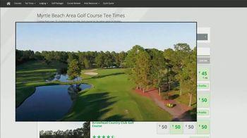 Myrtle Beach Golf Trips TV Spot, 'At Your Fingertips' - Thumbnail 4