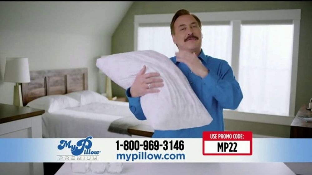 My Pillow Tv Commercial Your Support 2 Pack Ispot Tv