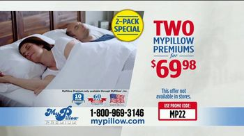 My Pillow TV Spot, 'Your Support: 2-Pack' - Thumbnail 8