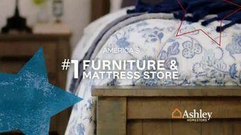 Ashley HomeStore Memorial Day Mattress Sale TV Spot, 'Ashley-Sleep Anniversary Mattress' Song by Midnight Riot - Thumbnail 8