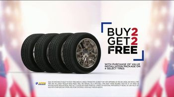 National Tire & Battery Memorial Day Super Sale TV Spot, 'Buy Two, Get Two Free' - Thumbnail 3