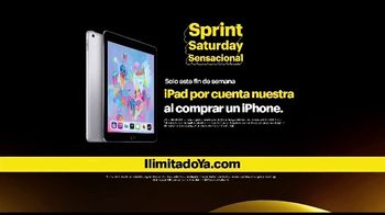 Sprint Saturday Sensacional TV Spot, 'Recibe un iPad' [Spanish] - Thumbnail 4