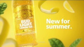 Bud Light Lemon Tea TV Spot, 'New for Summer' Song by Bebu Silvetti