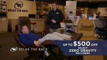 Relax the Back Memorial Day Event TV Spot, 'Solutions to Improve Your Life' - Thumbnail 3