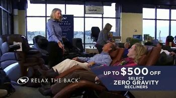 Relax the Back Memorial Day Event TV Spot, 'Solutions to Improve Your Life' - Thumbnail 4