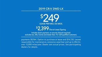 2019 Honda CR-V TV Spot, 'Ready for Adventure' [T2] - Thumbnail 10
