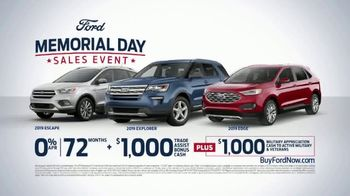 Ford Memorial Day Sales Event TV Spot, 'Get a Ford: SUVs' [T2] - Thumbnail 7
