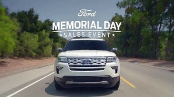 Ford Memorial Day Sales Event TV Spot, 'Get a Ford: SUVs' [T2] - Thumbnail 2