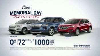 Ford Memorial Day Sales Event TV Spot, 'Get a Ford: SUVs' [T2] - Thumbnail 6
