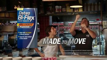 Osteo Bi-Flex Triple Strength Plus Magnesium TV Spot, 'Made to Move: Pizza' - 3267 commercial airings