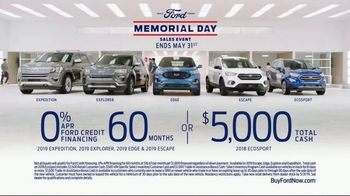 Ford Memorial Day Sales Event TV Spot, 'Highest Owner Loyalty' [T2] - Thumbnail 8