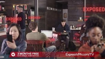 ExpressVPN TV Spot, \'Protect Your Online Data\'
