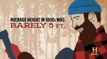 Duluth Trading Company TV Spot, 'History Channel: Paul Bunyan' - Thumbnail 5