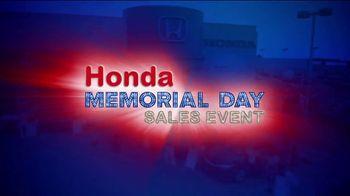 Honda Memorial Day Sales Event TV Spot, 'Spend Less, Get More' [T2] - Thumbnail 9
