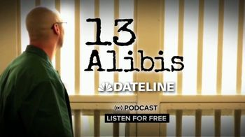 13 Alibis Podcast TV Spot, 'A Dateline Original' - Thumbnail 7