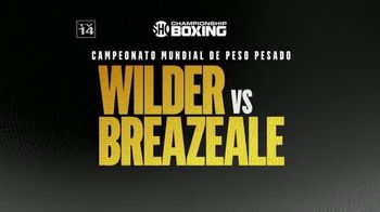 Showtime TV Spot, 'Championship Boxing: Wilder contra Breazeale' canción por Run The Jewels [Spanish] - 2 commercial airings