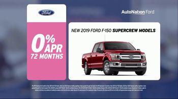 AutoNation Super Zero Event TV Spot, '2019 Ford F-150 SuperCrew Retired Demos' - Thumbnail 2