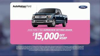 AutoNation Super Zero Event TV Spot, '2019 Ford F-150 SuperCrew Retired Demos' - Thumbnail 3