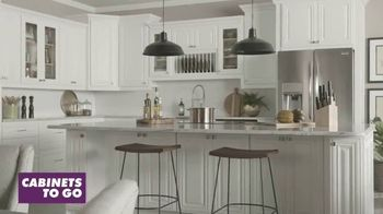 Cabinets To Go TV Spot, 'Curated Selection: $1,000 Cash Back' - Thumbnail 1