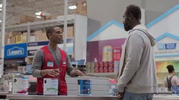 Lowe's Memorial Day Sale TV Spot, 'Do It Right: Interior and Exterior Paints & Stains' - Thumbnail 4