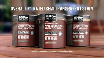 BEHR Paint TV Spot, 'Outdone Yourself: Memorial Day Savings' - Thumbnail 8