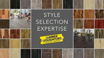 Lumber Liquidators 25th Anniversary TV Spot, 'Celebrate 25 Years: Waterproof Flooring' - Thumbnail 2