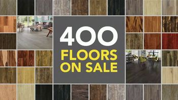 Lumber Liquidators 25th Anniversary TV Spot, 'Celebrate 25 Years: Waterproof Flooring'