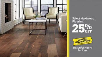 Lumber Liquidators 25th Anniversary TV Spot, 'Celebrate 25 Years: Waterproof Flooring' - Thumbnail 6