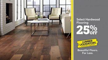 Lumber Liquidators 25th Anniversary TV Spot, 'Celebrate 25 Years: Waterproof Flooring' - Thumbnail 7