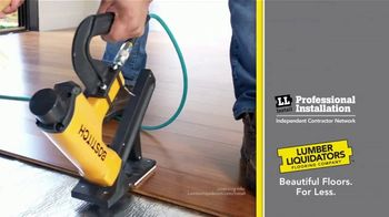 Lumber Liquidators 25th Anniversary TV Spot, 'Celebrate 25 Years: Waterproof Flooring' - Thumbnail 8