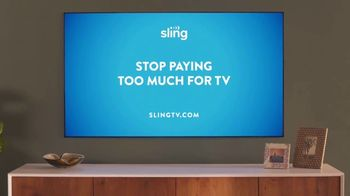 Sling TV Spot, 'First Timers: Limited Time' Featuring Nick Offerman, Megan Mullally - Thumbnail 8