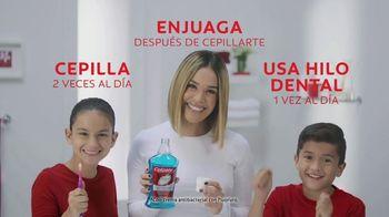 Colgate TV Spot, 'Univision: cepilla, enjuaga y usa hilo dental' con Karla Martínez [Spanish]