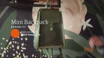 Etsy TV Spot, 'New Favorites: Bowl, Backpack, Welcome Mat' - Thumbnail 4