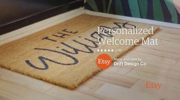 Etsy TV Spot, 'New Favorites: Bowl, Backpack, Welcome Mat' - Thumbnail 5