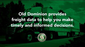 Old Dominion Freight Line TV Spot, 'Visibility to Freight Data'