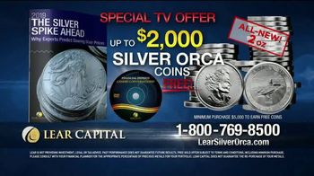 Lear Capital TV Spot, 'Two Ounce Silver Orca' - Thumbnail 8