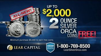 Lear Capital TV Spot, 'Two Ounce Silver Orca' - Thumbnail 6