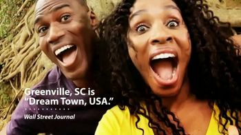 South Carolina Department of Parks, Recreation & Tourism TV Spot, 'Visit Greenville'