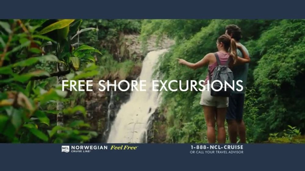 Norwegian Cruise Line TV Commercial, 'Free at Sea: Cruises from New York: $469'