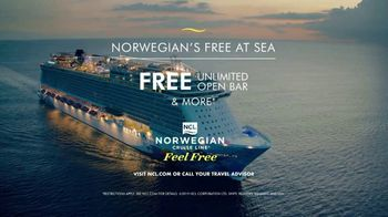 Norwegian Cruise Line Free at Sea TV Spot, 'Cruises from New York: $469' - Thumbnail 8