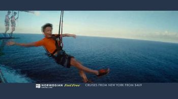 Norwegian Cruise Line Free at Sea TV Spot, 'Cruises from New York: $469' - Thumbnail 6