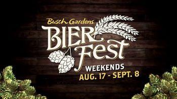 Busch Gardens Bier Fest TV Spot, 'Craft Beers & Annual Pass'