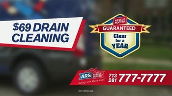 ARS Rescue Rooter $69 Drain Cleaning TV Spot, 'Free Plumbing Service Call' - Thumbnail 5