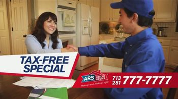 ARS Rescue Rooter Tax-Free Special TV Spot, 'Big Savings'