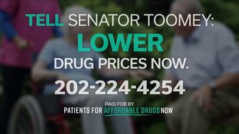 Patients for Affordable Drugs Now TV Spot, 'Pennsylvania: Senator Toomey' - Thumbnail 10