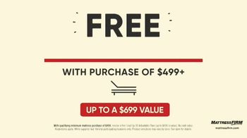 Mattress Firm Labor Day Preview Sale TV Spot, 'Adjustable Base' - Thumbnail 5